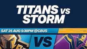 Titans V Storm